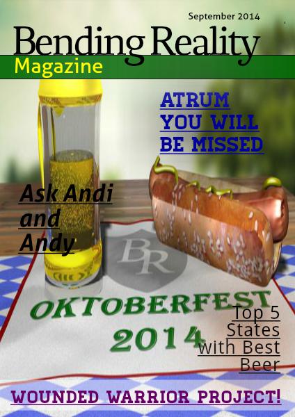 Bending Reality Magazine September 2014