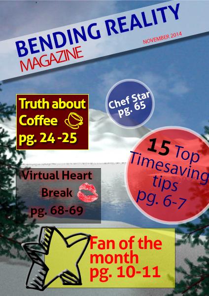Bending Reality Magazine November