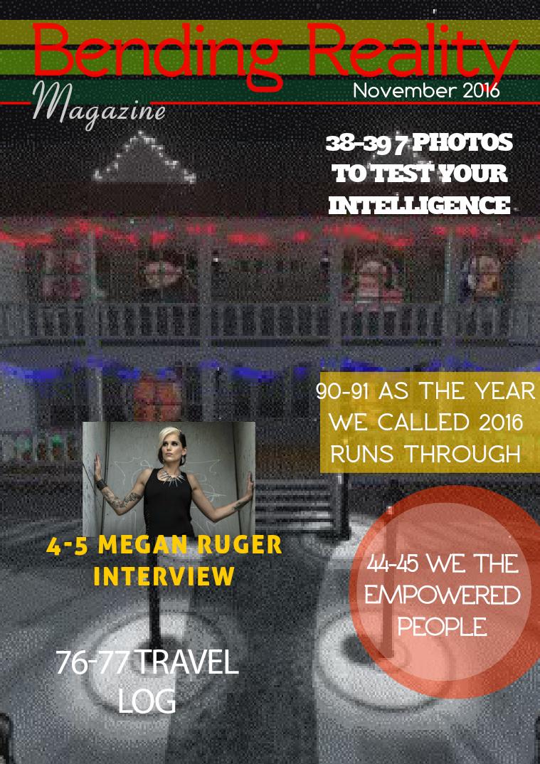 2016 Bending Reality Magazine November 2016