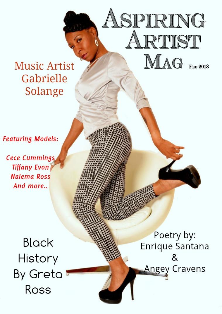 Aspiring Artist Magazine Feb 2018