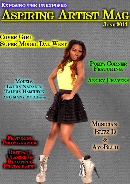 Aspiring Artist Magazine Vol 1 Issue 3 June 2014