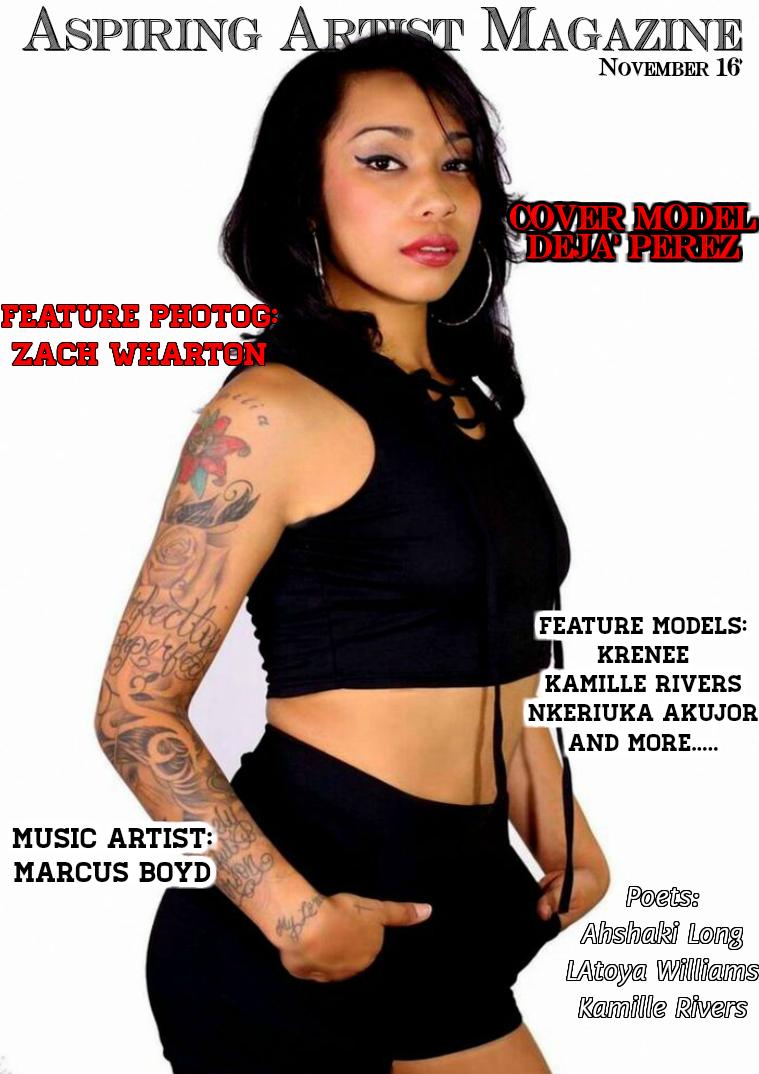 Aspiring Artist Magazine Nov '16