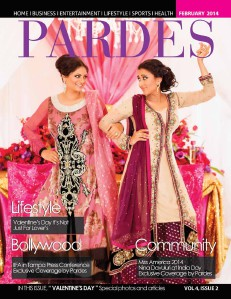 Pardes Magazine Feb, 2014