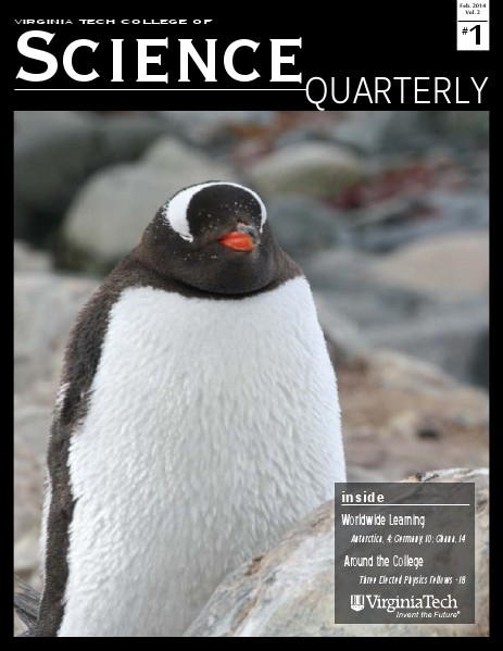 VT College of Science Quarterly August 2014 Vol. 2 No. 1