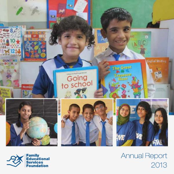 FESF Annual Report 2013 1.0