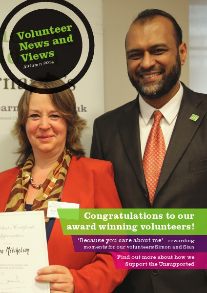 Volunteer News and Views Autumn 2014