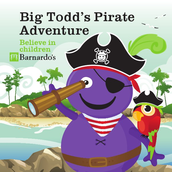 Toddle Storybook Big Todd's Pirate Adventure 2015