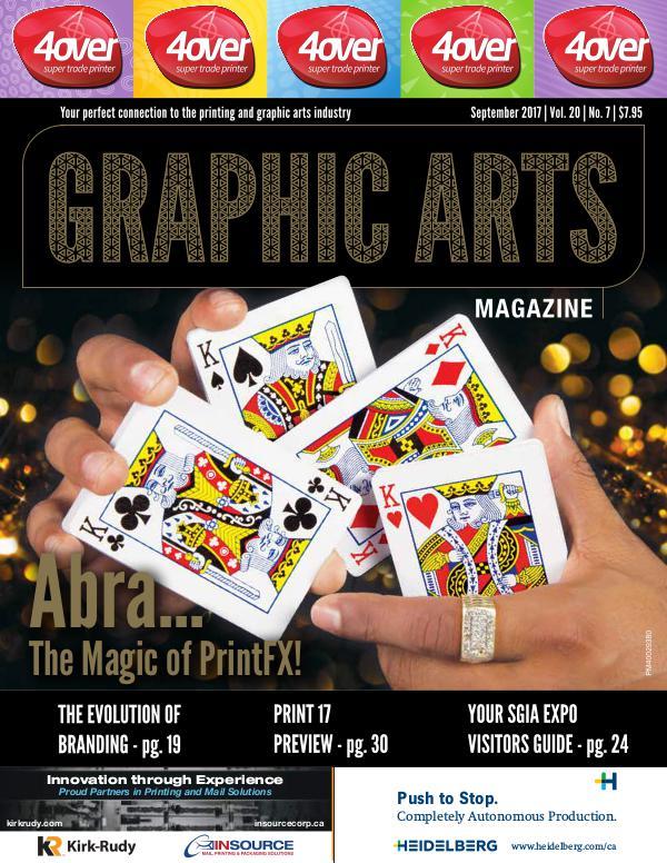 Graphic Arts Magazine September 2017