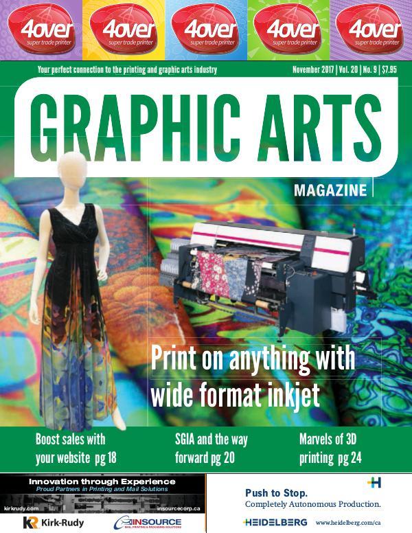 Graphic Arts Magazine November 2017