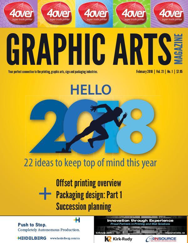 Graphic Arts Magazine February 2018