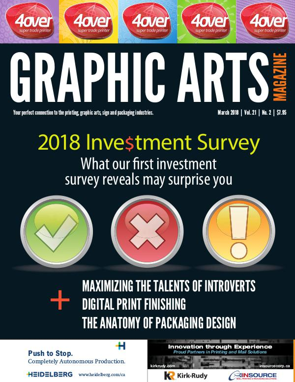 Graphic Arts Magazine March 2018