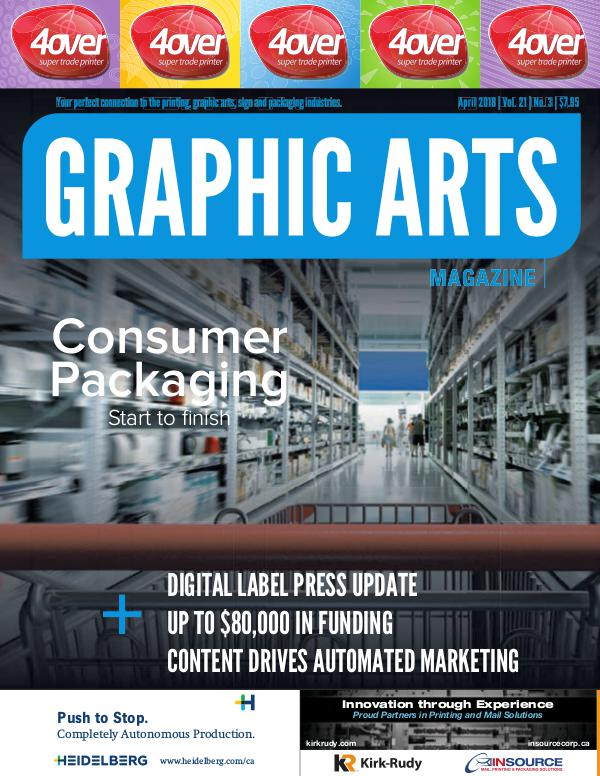 Graphic Arts Magazine April 2018