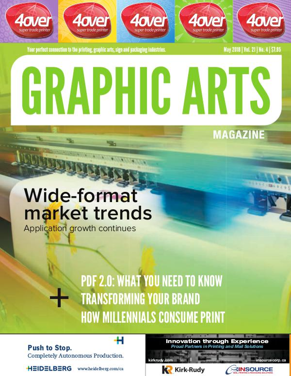 Graphic Arts Magazine May 2018