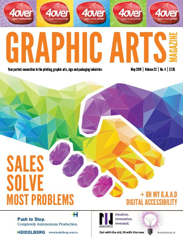 Graphic Arts Magazine May 2019