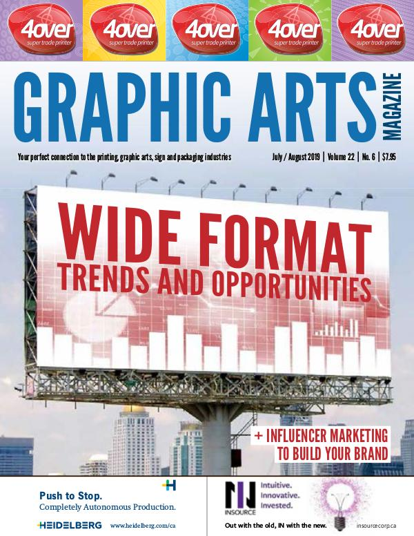 Graphic Arts Magazine July / August 2019