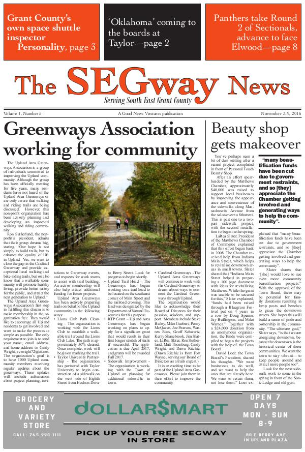 The SEGway News Issue 5