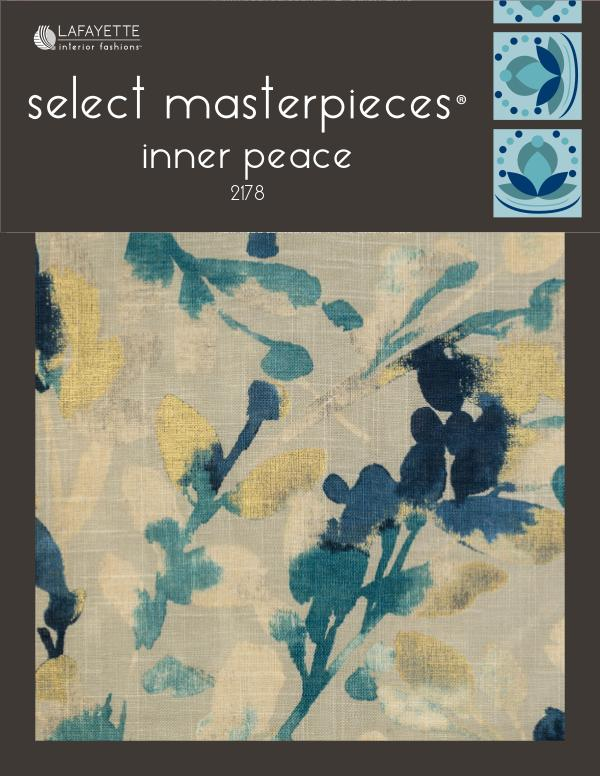 Select Masterpieces Fabric Collections By Lafayette Interior Fashions Book  2178, Inner Peace