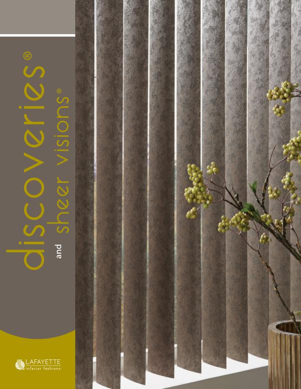 Lafayette Interior Fashions Discoveries Vertical Blinds