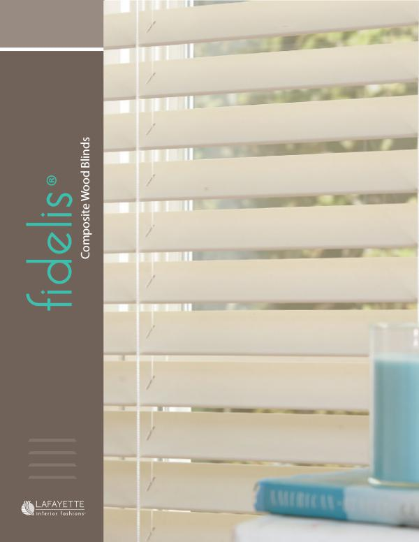 Fidelis Composite Wood Blinds
