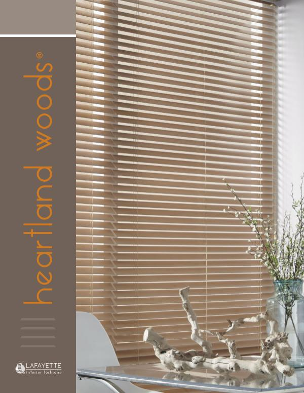 Lafayette Interior Fashions Heartland Woods Wood Blinds