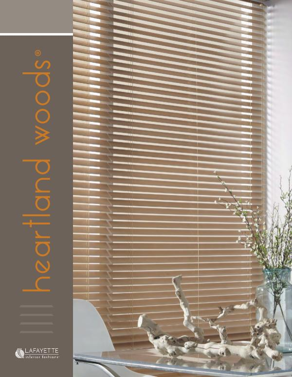 Heartland Woods Wood Blinds