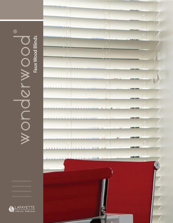 Exceptionnel Lafayette Interior Fashions Wonderwood Faux Wood Blinds