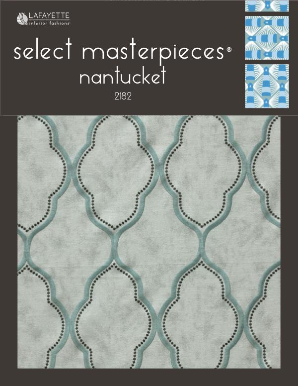 Select Masterpieces Fabric Collections by Lafayette Interior Fashions Book 2182, Nantucket