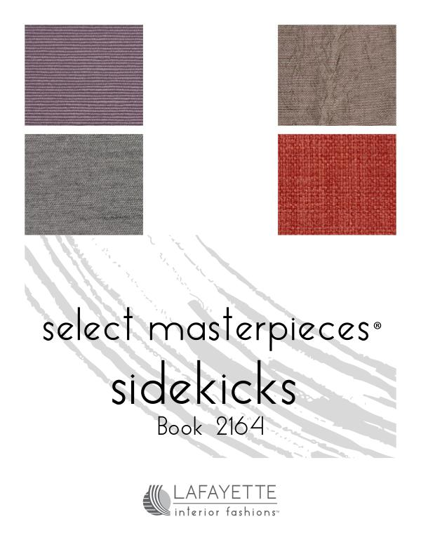 Select Masterpieces Fabric Collections by Lafayette Interior Fashions Book 2164, Sidekicks