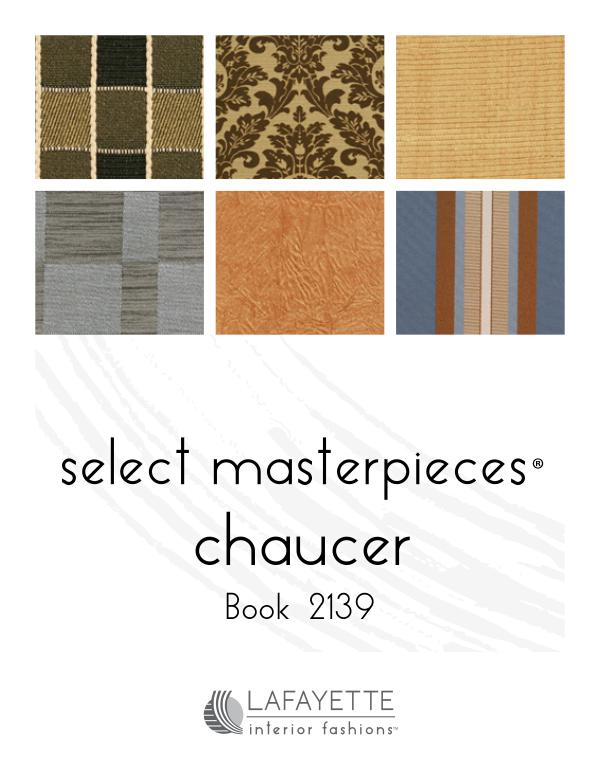 Select Masterpieces Fabric Collections by Lafayette Interior Fashions Book 2139, Chaucer