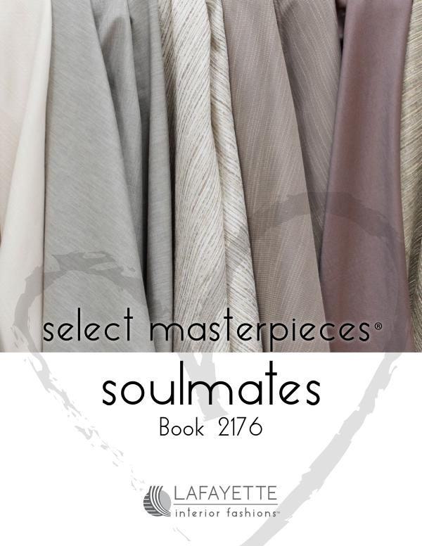 Select Masterpieces Fabric Collections by Lafayette Interior Fashions Book 2176, Soulmates