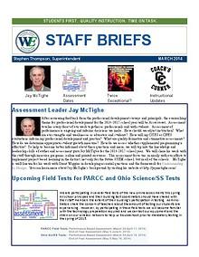 Staff Briefs
