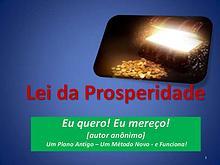 A Lei da Prosperidade
