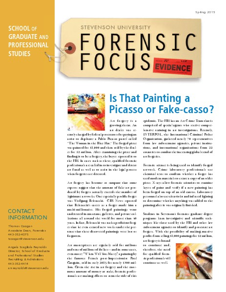 Forensic Focus Spring 2015