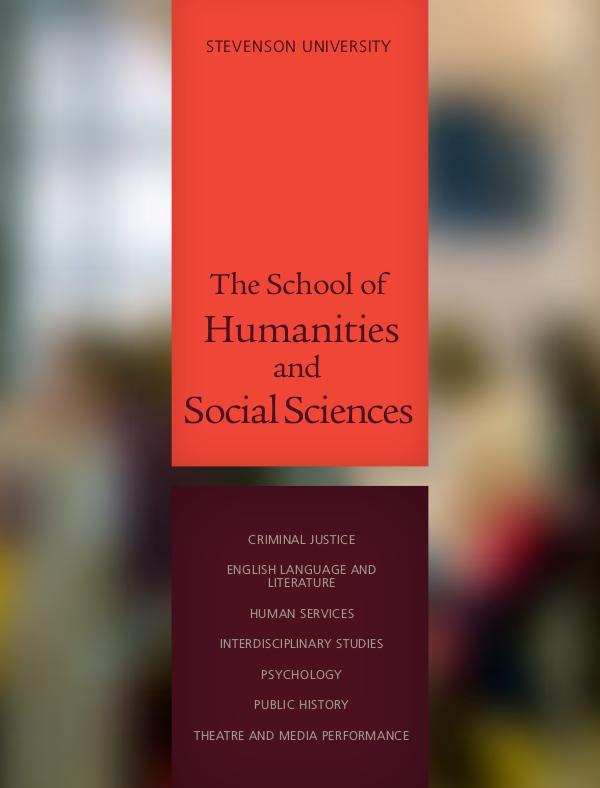 The School of Humanities and Social Sciences