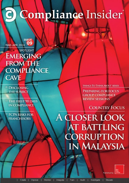 Compliance Insider® Issue 9 Mar–Apr 2014