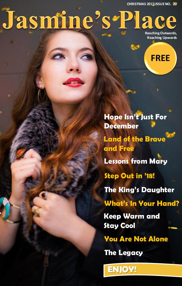 Issue No. 20 - Christmas 2017