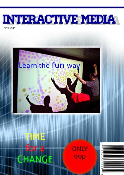 Principles of interactive media May. 2014