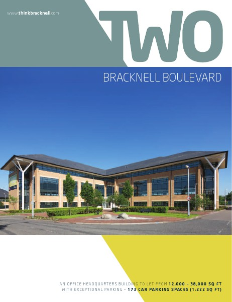 Office space to rent across the UK Two Bracknell Boulevard, Bracknell