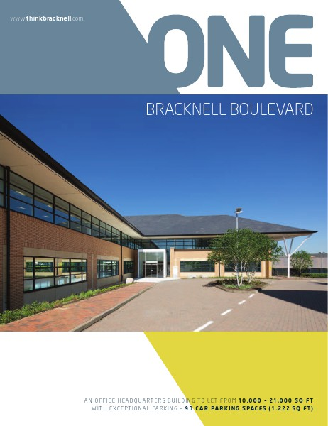 Office space to rent across the UK One Bracknell Boulevard, Bracknell