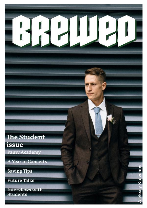 BREWED - the attitude issue Brewed_Studentissue_Digital2