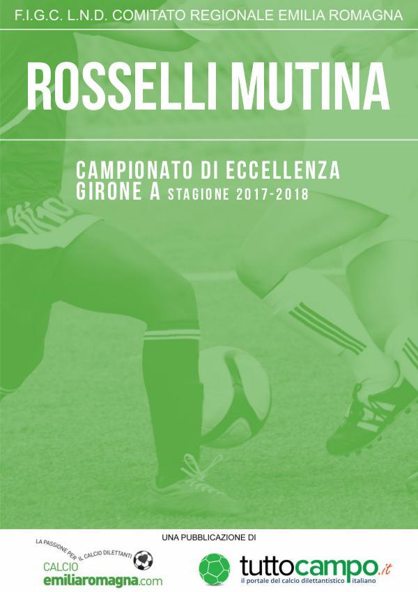 Rosselli Mutina 17/18 Almanacco Rosselli Mutina