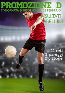 Risultati Promozione Girone D del 23 febbraio 2014