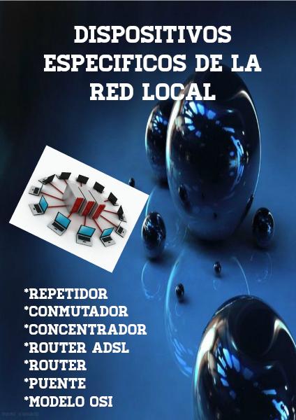 Dispositivos específicos de la red local volumen 1