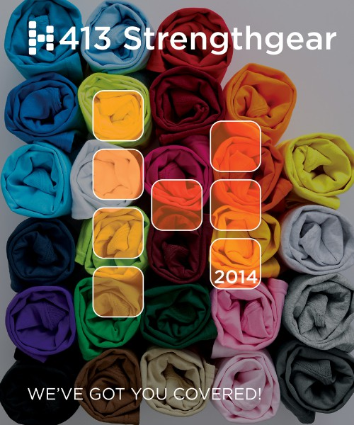 413 Strengthgear, Inc. Custom Apparel & Promotional Products 2014