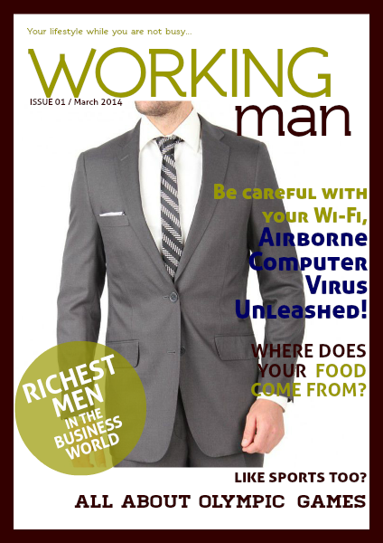 Working Man e.g March 2014