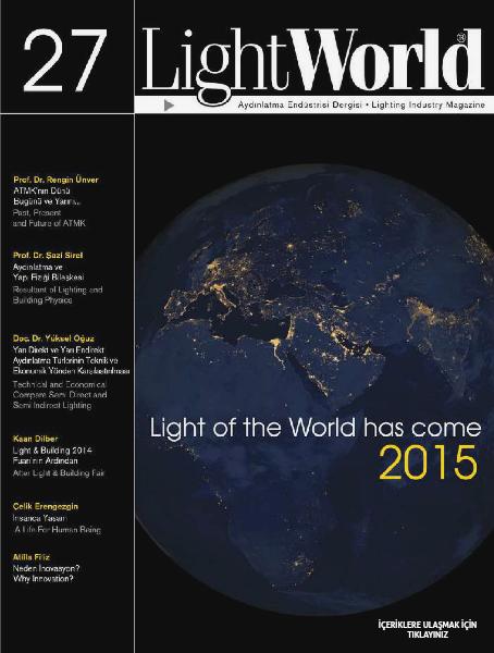 LightWorld 27 Sayı / İngilizce - Türkçe