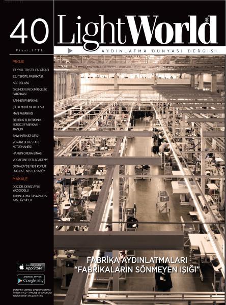 Fabrika Aydınlatmaları Sayı 40