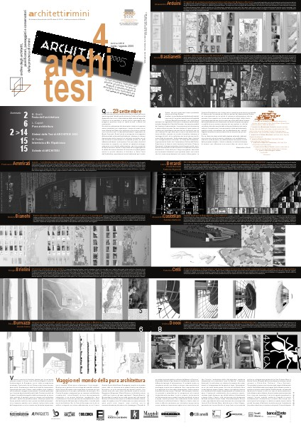 ArchitettiRimini (2005/2009) N. 4 - architesi - 2005
