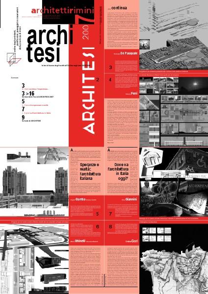 ArchitettiRimini (2005/2009) N. 7 - architesi - 2007