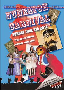 Nuneaton Carnival Programme 2014
